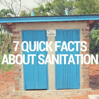 7 Quick Facts About Sanitation