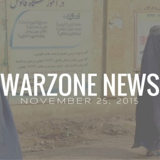 Warzone News November 25, 2015