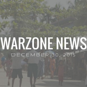 Warzone News: December 30, 2015