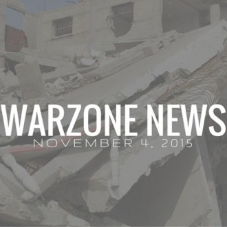 Warzone News November 4, 2015