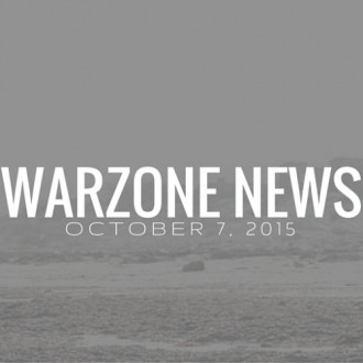 Warzone News October 7, 2015