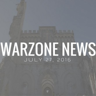 Warzone News: July 27, 2016