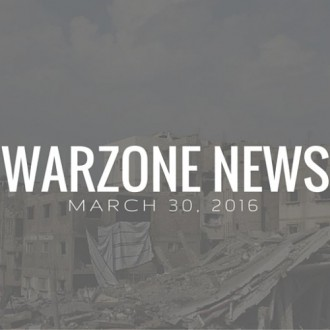 Warzone News March 30, 2016