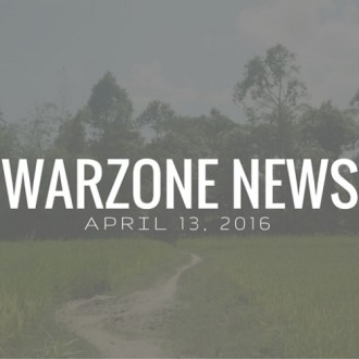 Warzone News: April 13, 2016
