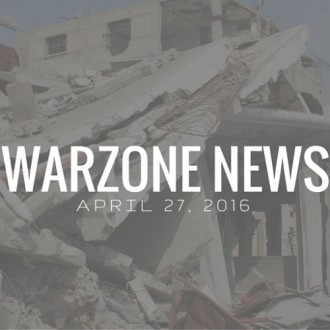 Warzone News: April 27, 2016