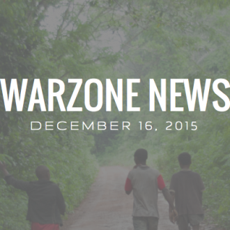 Warzone News December 16, 2015