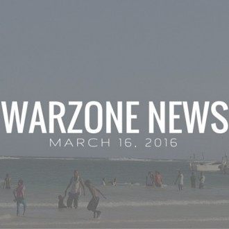 Warzone News: March 16, 2016