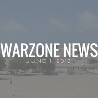 Warzone News: June 1, 2016